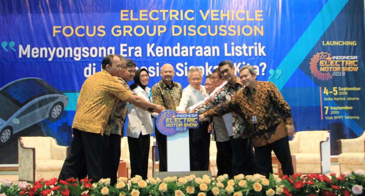 BPPT Launching IEMS 2019, Pameran Kendaraan Listrik Pertama di Indonesia